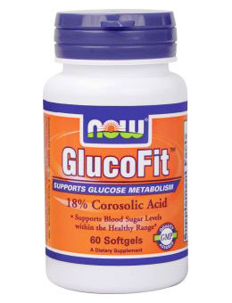 GlucoFit NOW (60 Softgels)(EXP 11/2016)