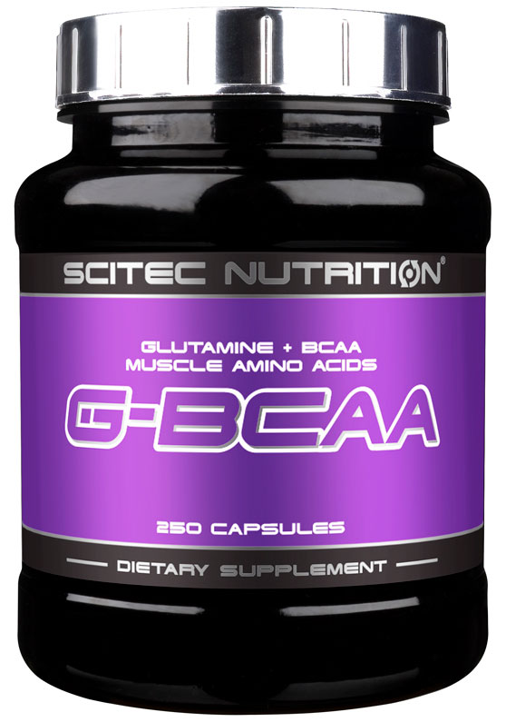 G-BCAA SCITEC NUTRITION (250 кап)
