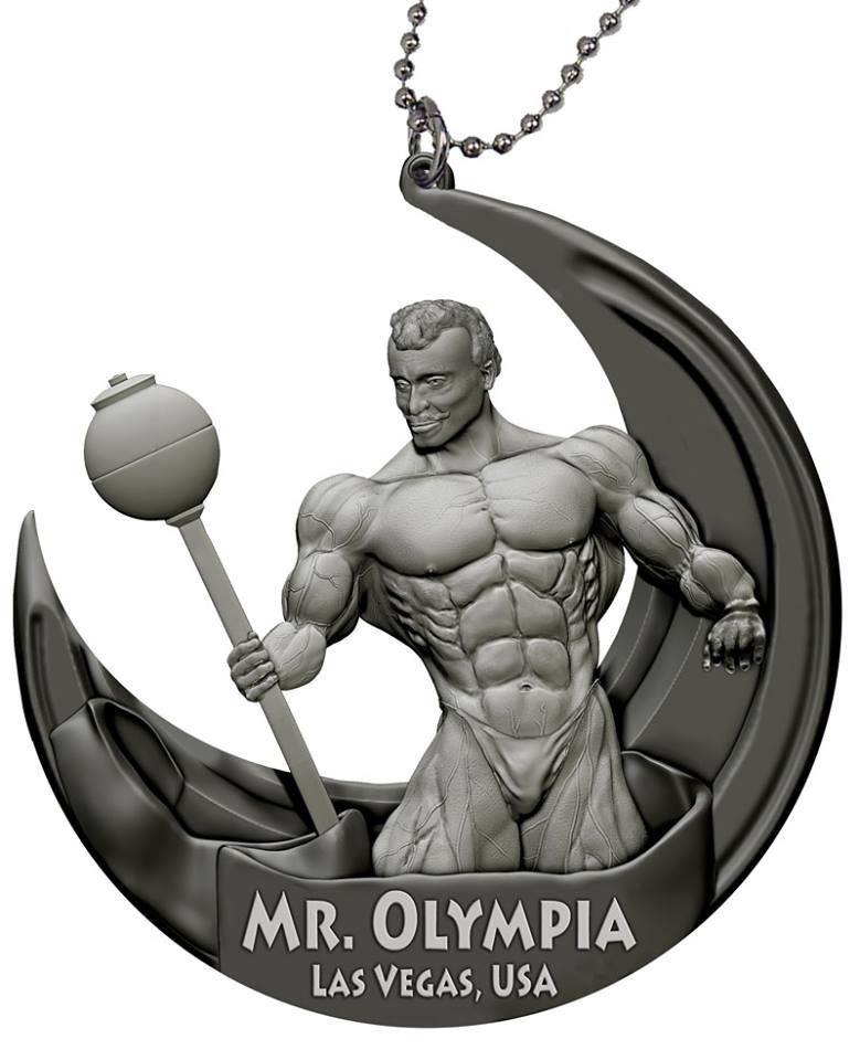 Кулон «MR.OLYMPIA»