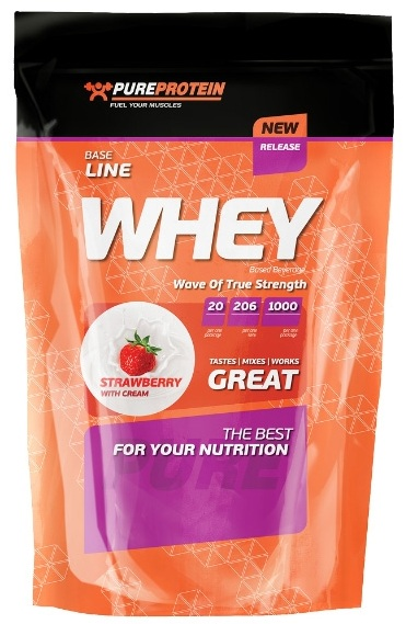 Whey Protein PureProtein (1000 gr)(EXP 15/03/2016)