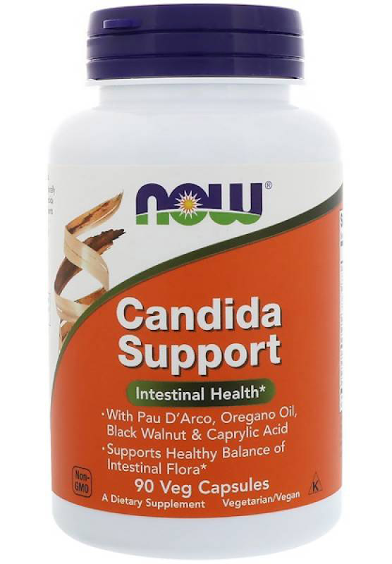 Candida Support NOW (90 вегетарианских капсул)