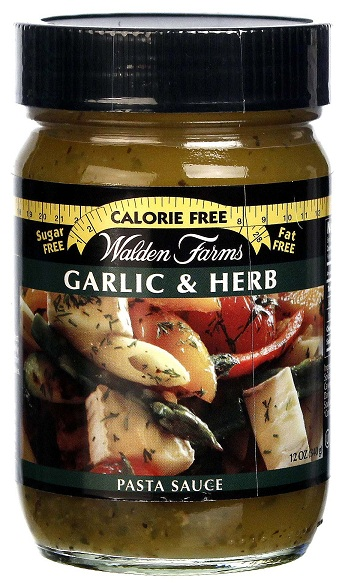 Garlic & Herb Pasta Souce Walden Farms (340 gr)