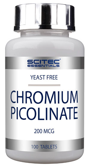 CHROMIUM PICOLINATE SCITEC NUTRITION (100 таб)