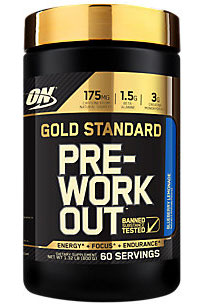 Gold Standard Pre-Workout (600 gr)(EXP 07/2018)