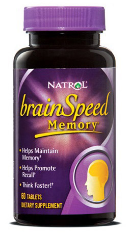 BrainSpeed Memory Natrol (60 таб)