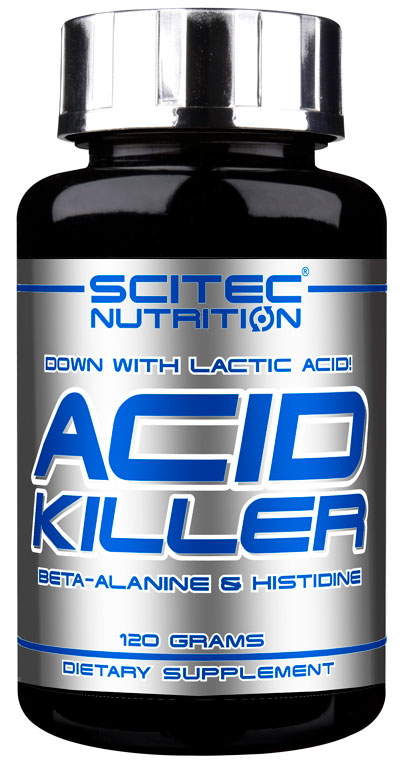 ACID KILLER (BETA ALANINE) SCITEC NUTRITION (120 gr)