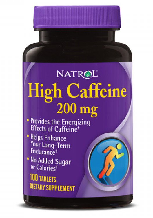 High Caffeine Natrol (100 таб)