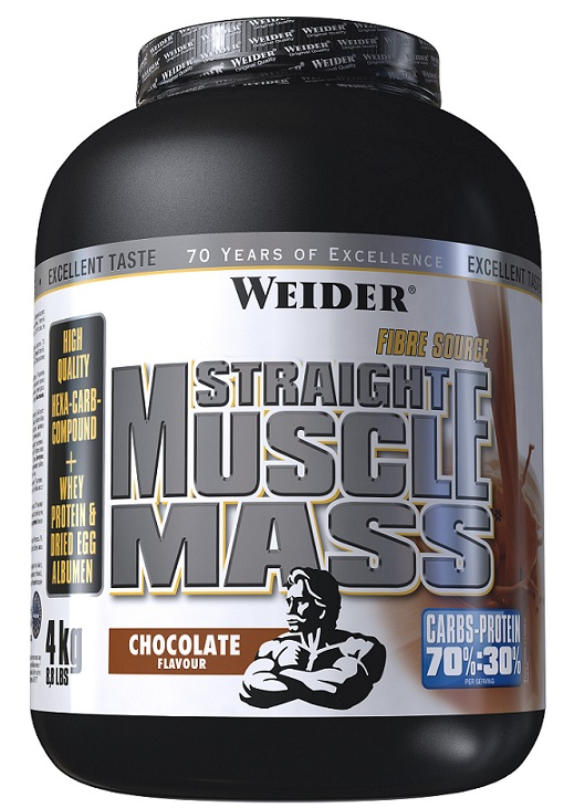 Straight Muscle Mass Weider (4 кг)