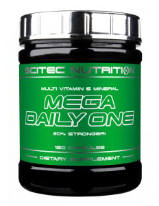 MEGA DAILY ONE SCITEC NUTRITION (150 кап)