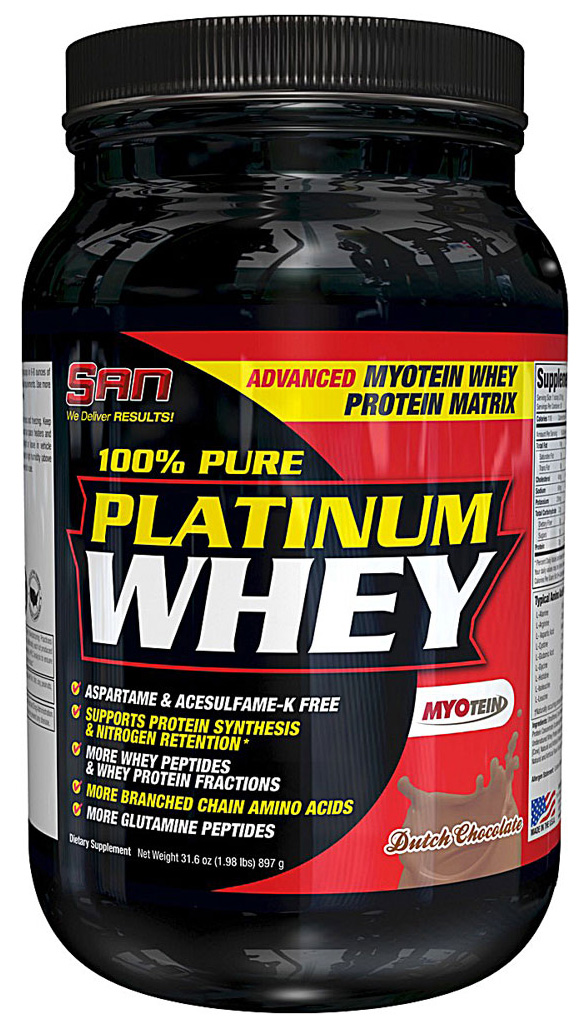 100% Pure Platinum Whey (VoluMass)(897 гр)