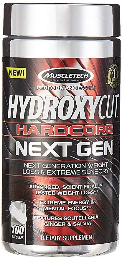 Hydroxycut Hardcore Next Gen MuscleTech (100 cap)