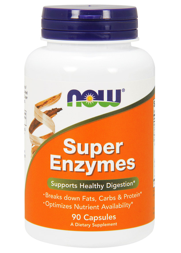 Super Enzymes NOW (90 Capsules)