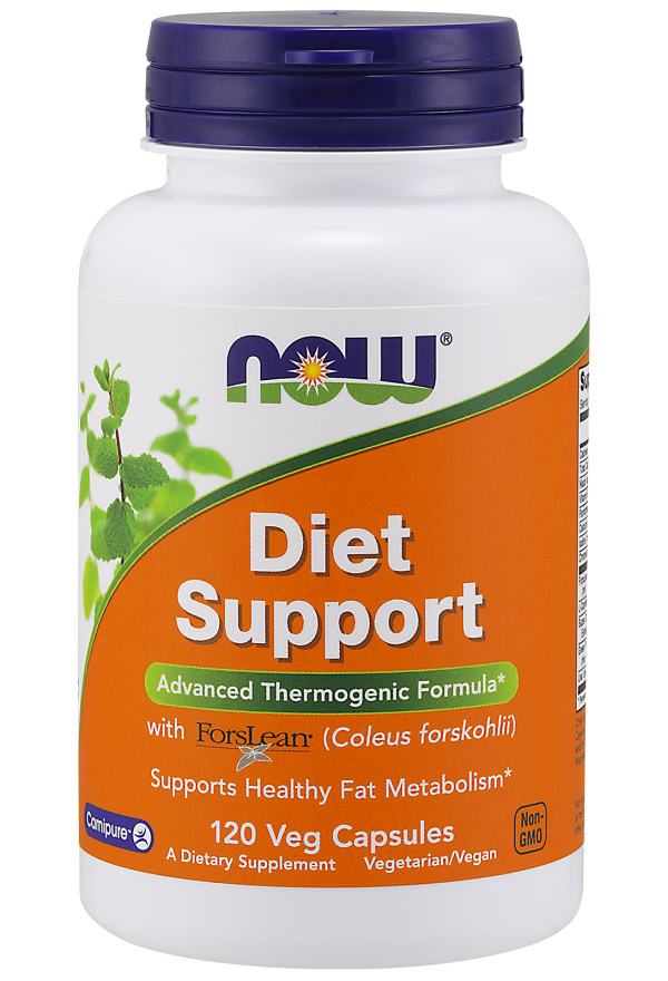 Diet Support NOW (120 вегетарианских капсул)