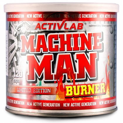Machine Man Burner ActivLab (120 кап)(годен до 26/08/2018)