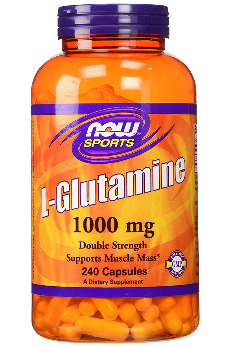 L-Glutamine 1000 mg NOW (240 кап)
