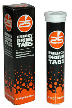 25 Energy Drink Tabs (15 tab)