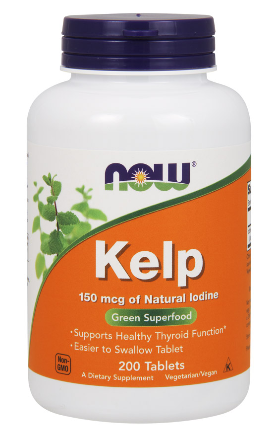 Kelp 150 mcg NOW (200 tab)