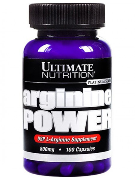 Arginine Power Ultimate Nutrition (100 кап x 800 мг)