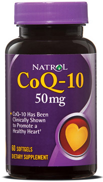 CoQ-10 50 mg Natrol (60 softgels)