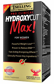Hydroxycut Max Pro Clinical for Women (120 кап)
