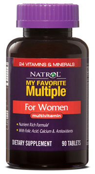 My Favorite Multiple for Women Natrol (90 tab)