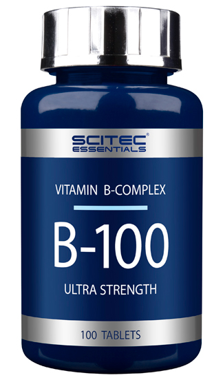 B-100 SCITEC NUTRITION (100 таб)
