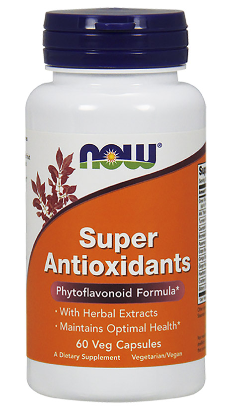 Super Antioxidants NOW (60 вег кап)