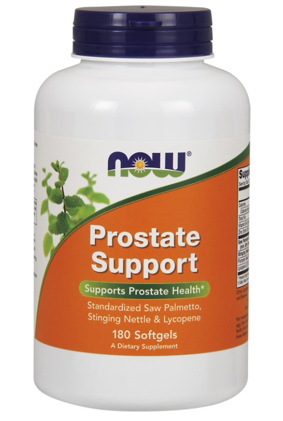 Prostate Support NOW (180 гелевых капсул)