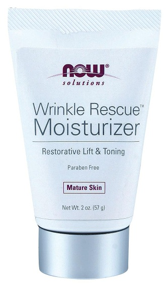 Wrinkle Rescue Moisturizer 2 oz (крем-лифтинг) NOW (57 гр)