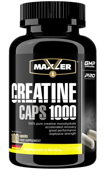 Creatine Caps 1000 Maxler (100 кап)
