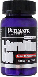 L-Carnitine 500 Ultimate Nutrition (60 таб)