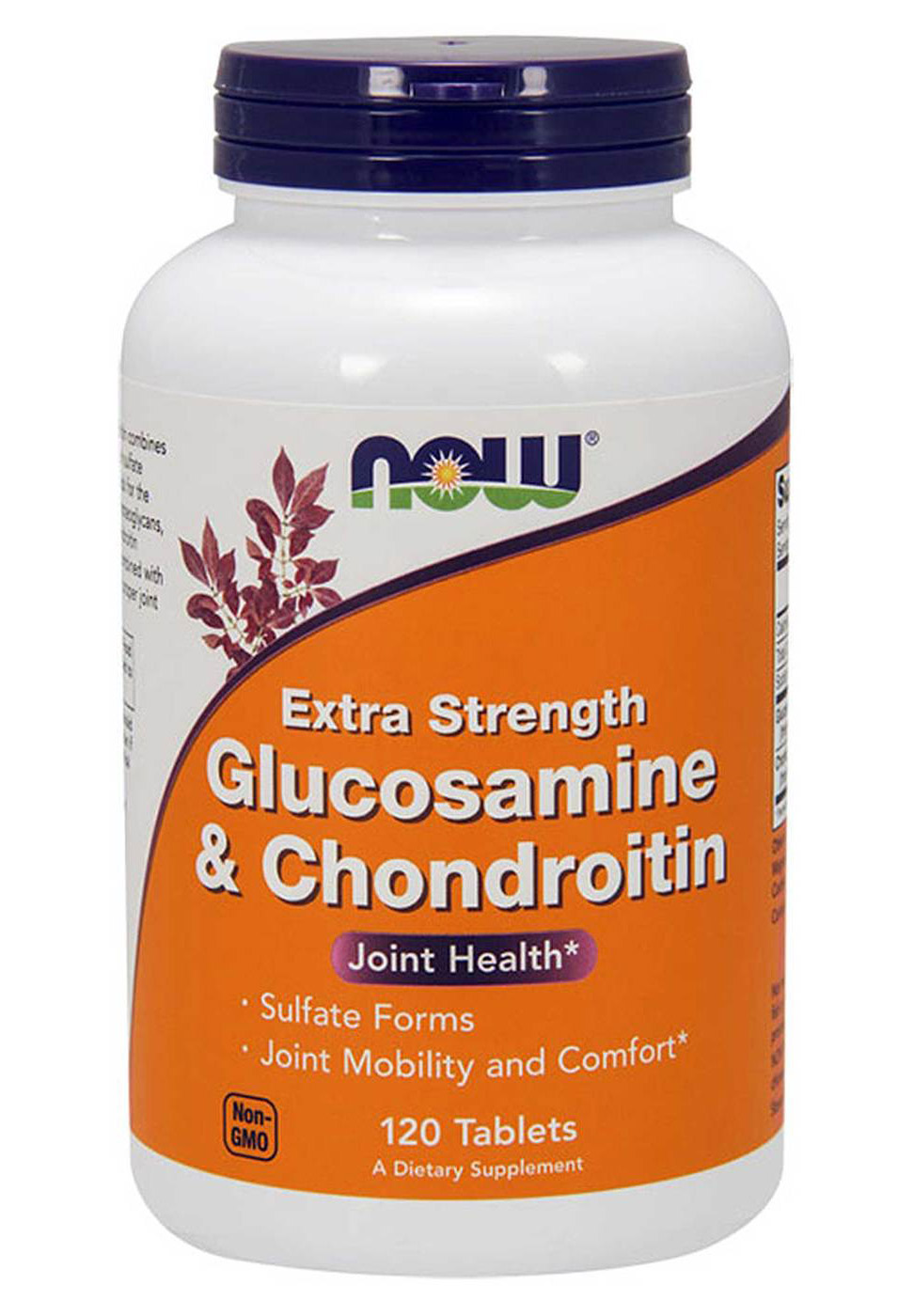 Glucosamine & Chondroitin Sulfate Extra Strength NOW (120 ta