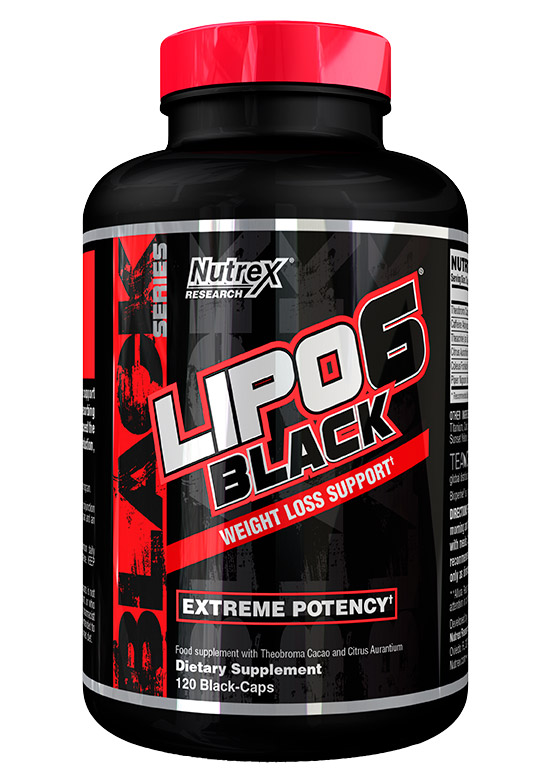 Lipo-6 Black International Nutrex (120 кап)
