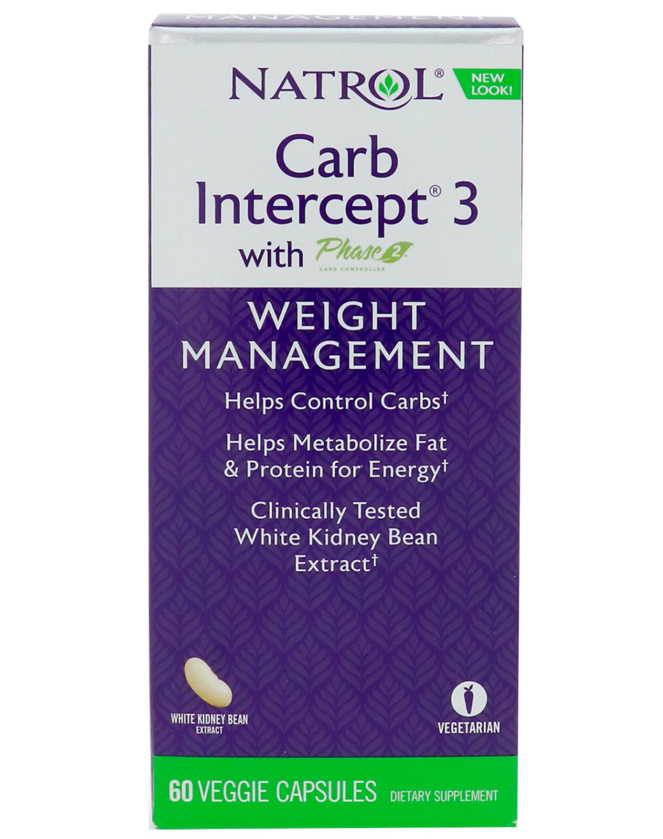 Carb Intercept 3 with Phase 2 Natrol (60 кап)