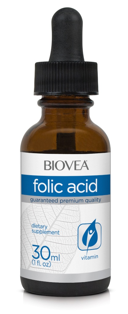 Folic Acid Liquid Drops Biovea (30 мл)