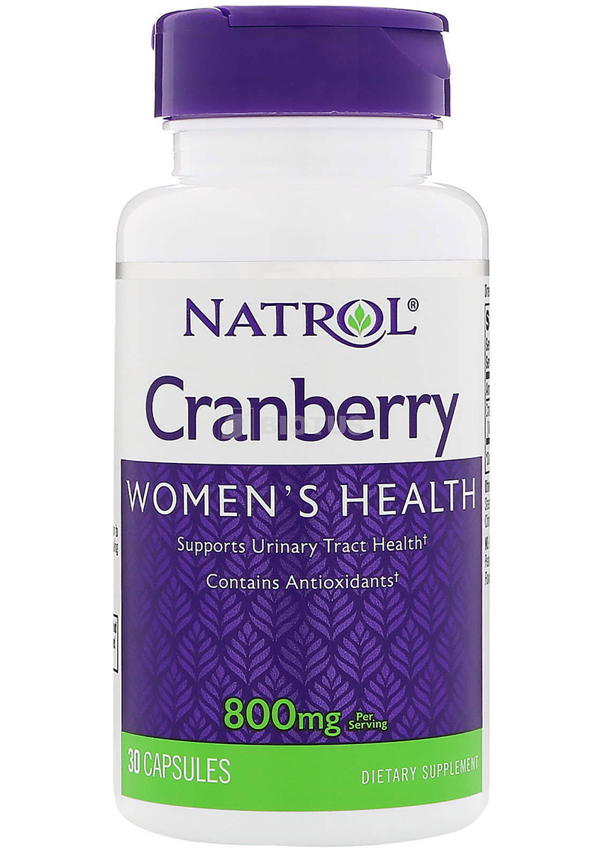 Cranberry Extract 800 mg Natrol (30 кап)