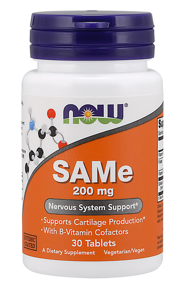 SAMe 200 mg NOW (30 Tablets)
