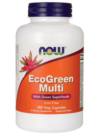 EcoGreen Multi NOW (180 вег кап)