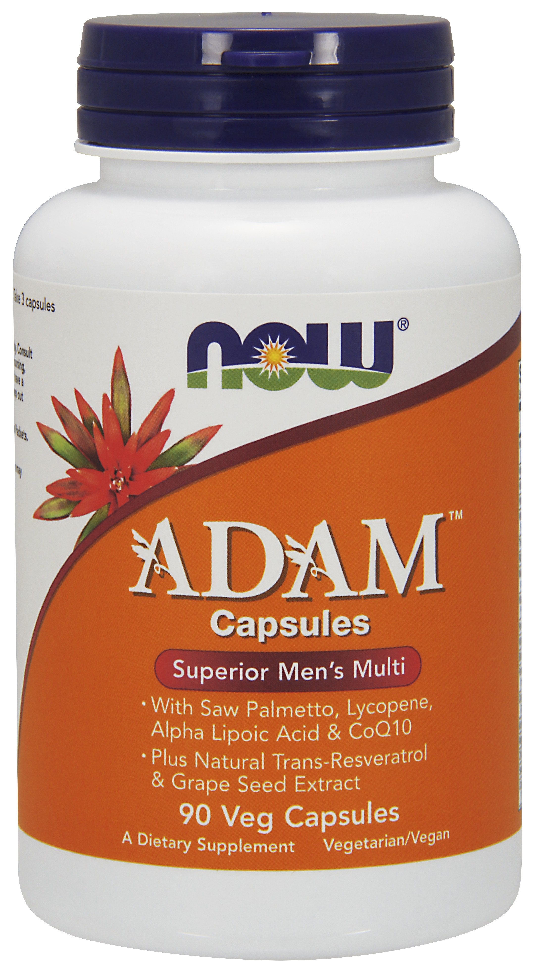 ADAM Superior Men's Multiple Vitamin NOW (90 вег кап)