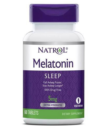Melatonin 5 mg Natrol (60 таб)