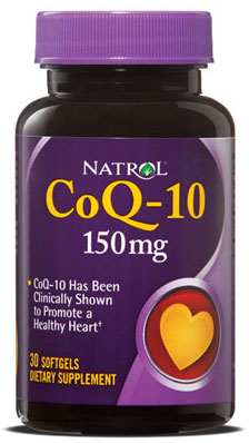 CoQ-10 150 mg Natrol (30 softgels)