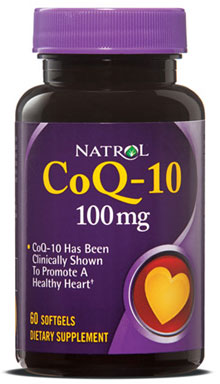 CoQ-10 100 mg Natrol (60 softgels)