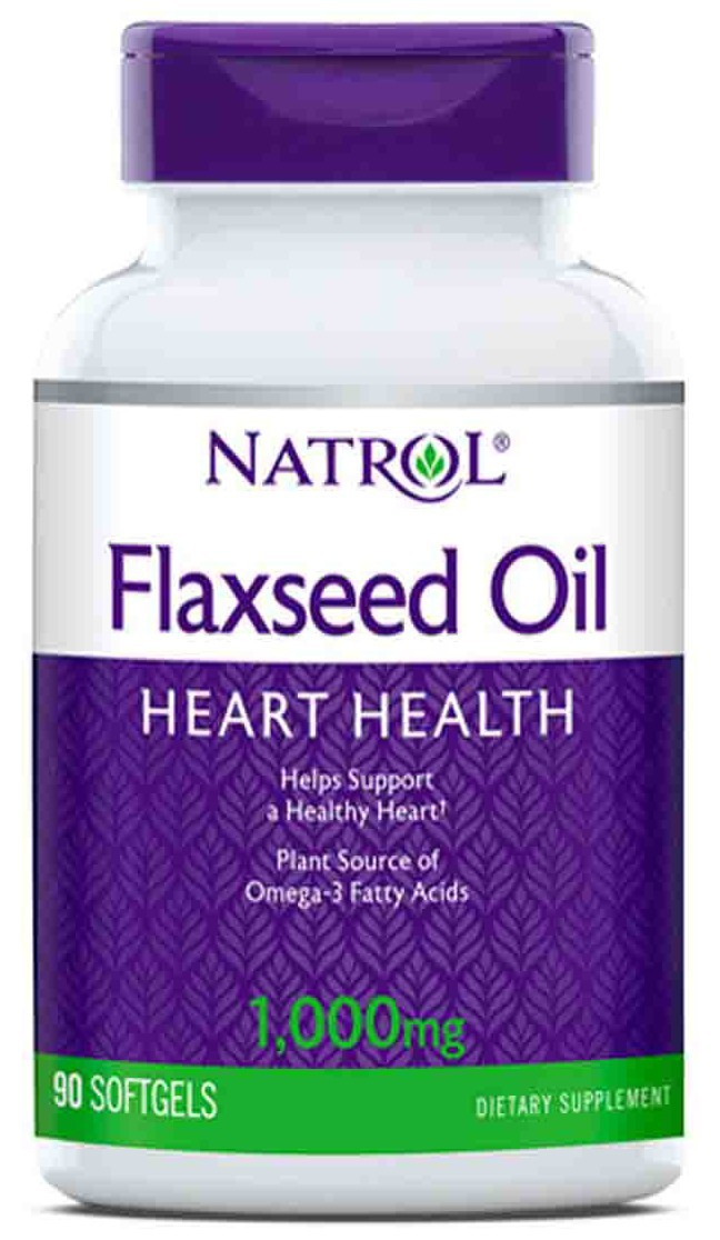 Flax Seed Oil 1000 mg Omega-3 Natrol (90 softgels)