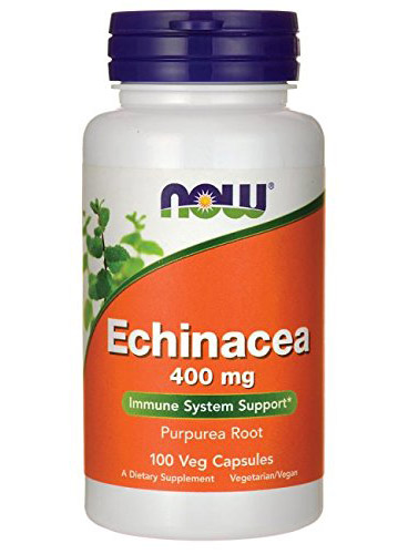 Echinacea 400 mg NOW (100 кап)