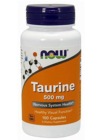 Taurine 500 mg NOW (100 cap)