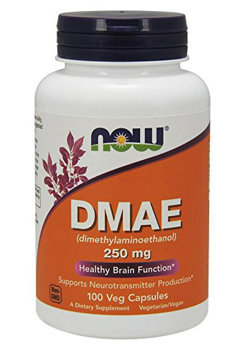 DMAE 250 mg NOW (100 vcaps)