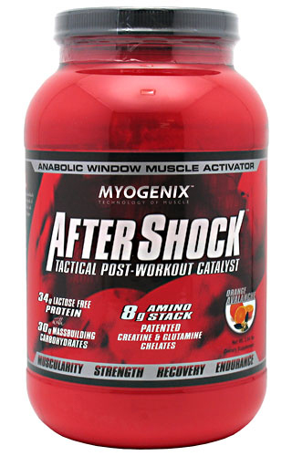 AfterShock Tactical Post Workout Myogenix (1200 гр)