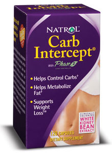 Carb Intercept with Phase 2+ Natrol (120 cap)