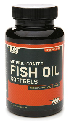 Enteric Coated Fish Oil Softgels (100 gelcap)