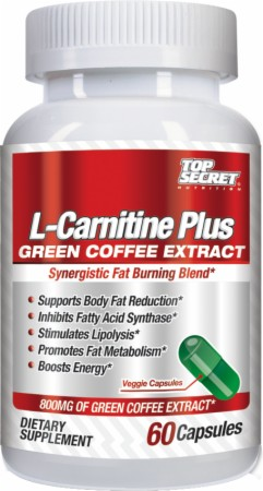 L-Carnitine Plus Green Coffee Top Secret Nutrition (60 cap)